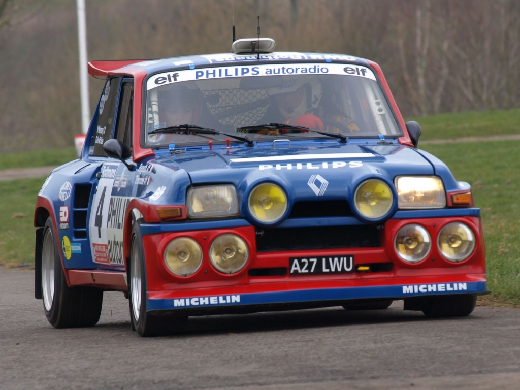 Renault 5 Maxi turbo