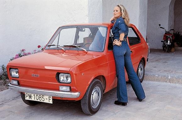 Coches de los años 70 en España