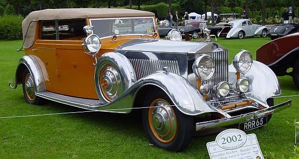 Rolls-Royce Phantom II Convertible (1934)