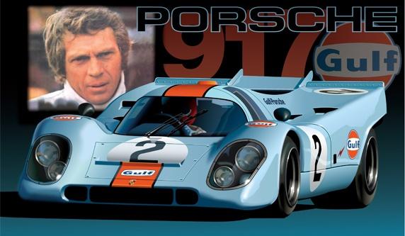 El Porsche 917 de Steve McQueen a subasta