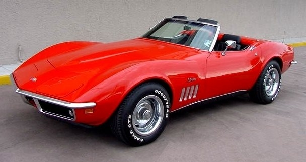 Chevrolet Corvette C3 StingRay (1969)