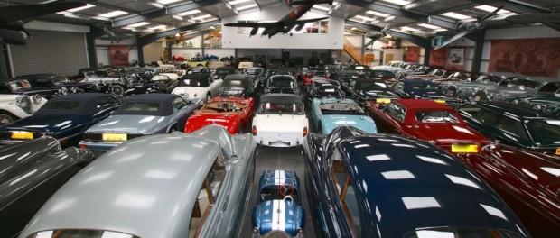 Jaguar compra la mayor colección de coches clásicos británicos del mundo