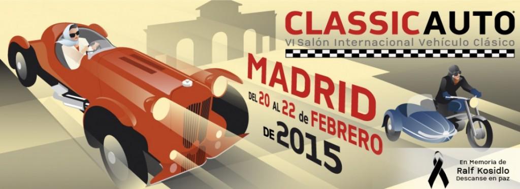 ClassicAuto Madrid se prepara para el 2015